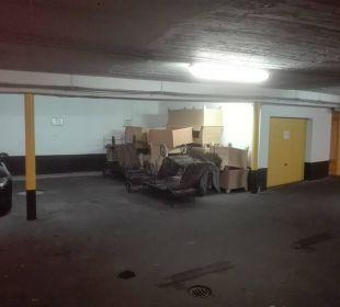 Tiefgarage - Müll- und Lagerplatz Dorint Park Hotel Bremen