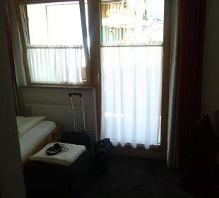 Blick von der Zimmertür Gästehaus Sinz