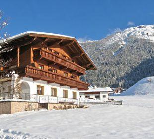 Ausserwieserhof im Winter Pension Ausserwieserhof