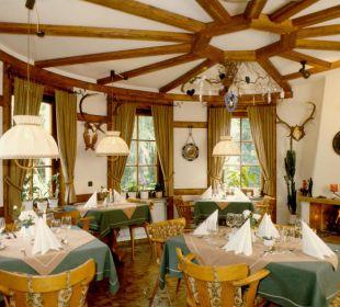 Speiseraum Hotel-Pension Altes Forsthaus
