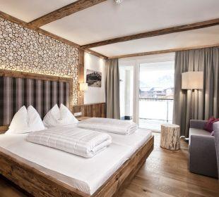 Doppelzimmer Deluxe Landhausstil Hotel Heigenhauser