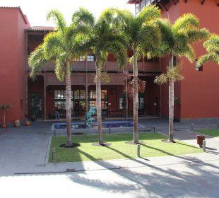 Kleiner Platz im unteren Bereich La Palma Princess