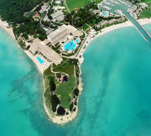 Aerial view Sani Beach
