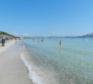 Blick in Richtung Alcudia Hotel Playa Esperanza
