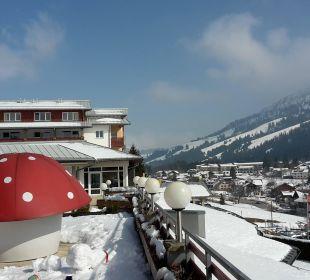 Terrasse  Kinderhotel Oberjoch