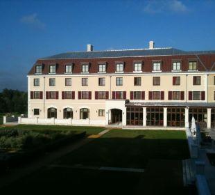 Ausblick vom Zimmer 112, 1.Etage