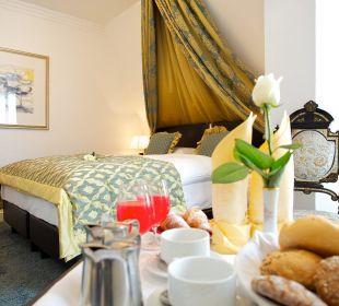 Frühstück im Zimmer Hotel Europa Splendid