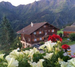 Aussicht vom Balkon aus Gasthaus Alpina