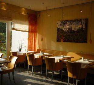 Frühstücksbereich Hotel Uhu Köln