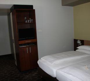 Sehr schöne und geräumige Zimmer AKZENT Hotel Kaliebe