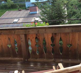 Ausblick vom Balkon Hotel Großarler Hof