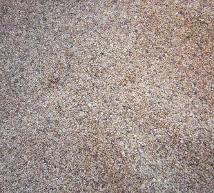 Sand im Bereich der Liegestühle Blue Lagoon Hotel Oludeniz