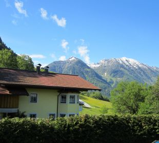 Blick von Balkon  Pension Ötzmooshof