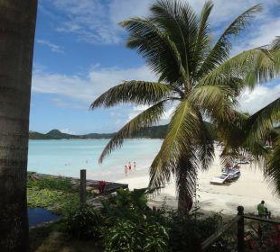 Toller ausblick auf dem weg zum strand Cocos Hotel