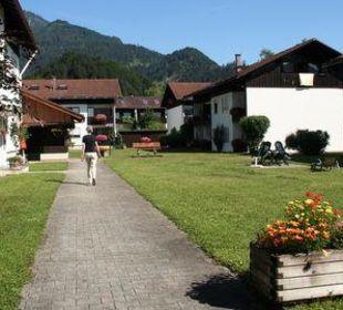 Wohnanlage im Sommer Ferienwohnanlage Oberaudorf
