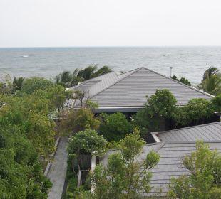 Ausblick von der Terrasse Hotel Rest Detail Hua Hin