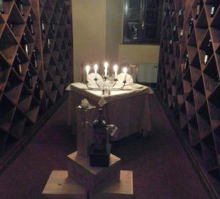 Raum für Romantic-Dinner zu zweit Hotel & Wine Resort Villa Dievole