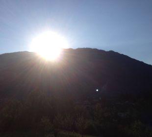 Sonnenaufgang vom Balkon Landhaus Schneider