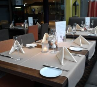 Abends im Restaurant Hotel Mercure München Neuperlach Süd