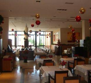 Weihnachtsdeko Hotel Luz Del Mar