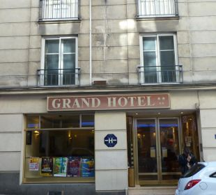 Hoteleingang Grand Hotel De Nantes