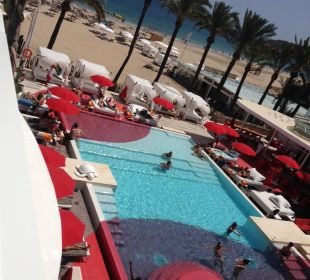 Pool im Towerbereich Ushuaia Ibiza Beach Hotel - The Tower / The Club