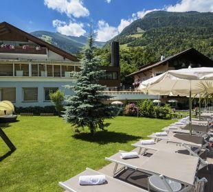 Außenansicht Hotel Alpenhof Passeiertal