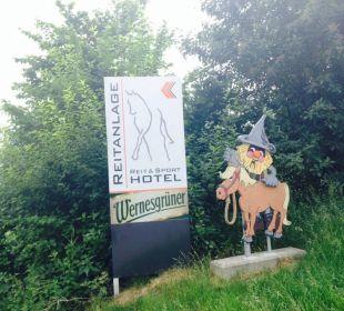 Schild Reit- & Sporthotel Eibenstock