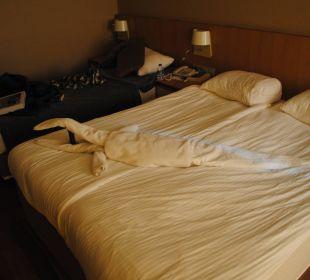 Jeden Tag schön gefaltete Handtücher... Sherwood Dreams Resort