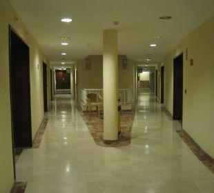 Hotelflur Hotel Gran Rey