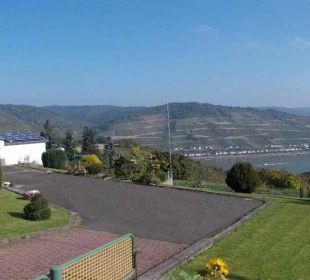 Das Grundstück Ferienwohnung Schau Rhein