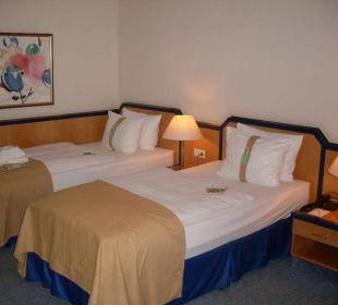 Doppelzimmer Hotel Holiday Inn Hamburg