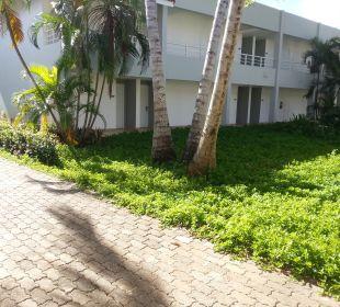 Gartenanlage COOEE at Grand Paradise Samana