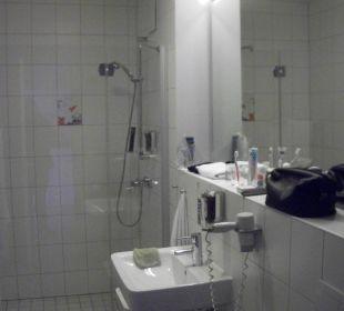 Badezimmer im-jaich boardinghouse bremerhaven