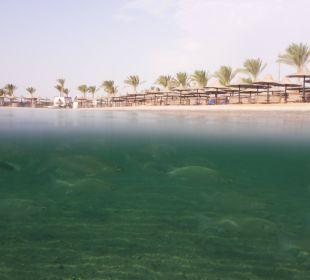 Strand des Iberotel Hotel Steigenberger Coraya Beach