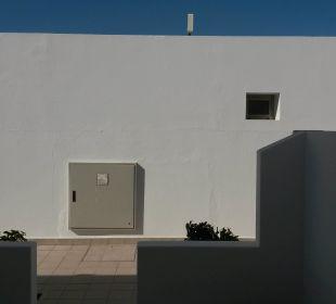 Sicht aus Fenster  Hotel Las Costas