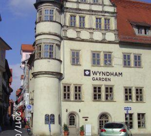Außenansicht Hotel Wyndham Garden Quedlinburg Stadtschloss