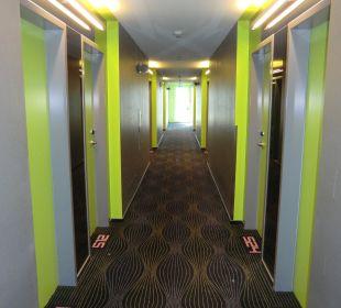 Hotel-Flur 5. Etage prizeotel Bremen-City