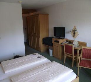Großes Südzimmer Komfort AKZENT Hotel Schatten