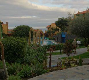 Ansprechender Garten Apartamentos La Caleta