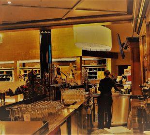 Ausschnitt der Bar im Mondi Bellevue MONDI-HOLIDAY First-Class Aparthotel Bellevue