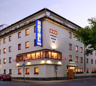 Außenansicht Hotel Ludwig