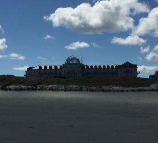 Außenansicht Strandhotel Kurhaus Juist