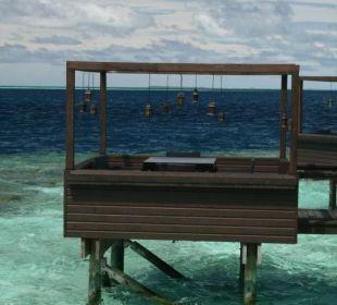 Außentisch Tamarind Restaurant Lily Beach Resort & Spa