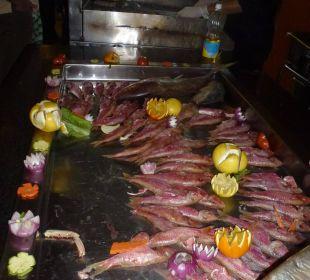 Draußen Grillfisch
