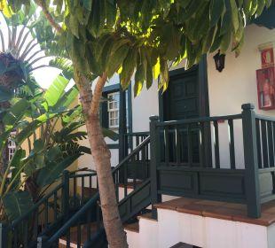 Eingang Hotel Oasis San Antonio
