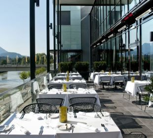 Terrasse Restauant Lagana & Como Hotel Holiday Inn Villach