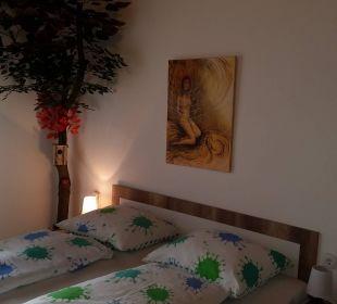Schlafzimmer Ferienwohnung Urlaubsnest