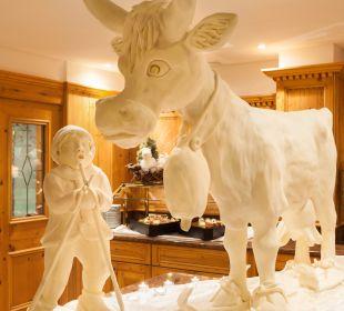 Butterskulptur für eines unserer Buffets Hotel Bergkristall