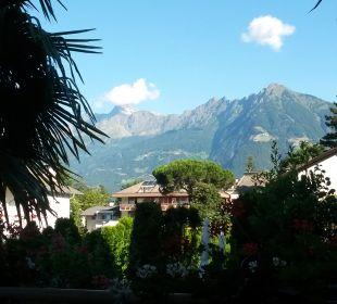 Blick von der Terrasse Hotel Ladurner